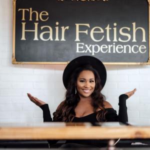 Hair fetish aurora hair salon front desk